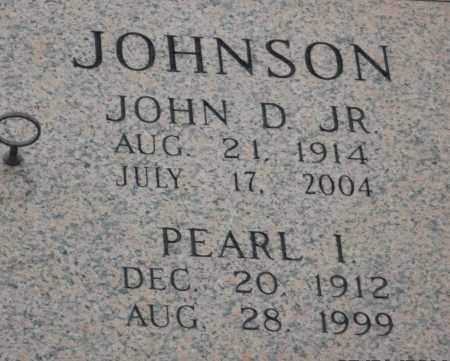 JOHNSON, PEARL I - Pulaski County, Arkansas   PEARL I JOHNSON - Arkansas Gravestone Photos