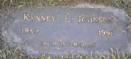 JOHNSON, KENNEY L - Pulaski County, Arkansas | KENNEY L JOHNSON - Arkansas Gravestone Photos