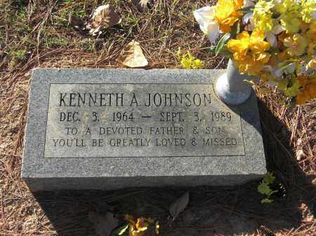 JOHNSON, KENNETH A - Pulaski County, Arkansas | KENNETH A JOHNSON - Arkansas Gravestone Photos