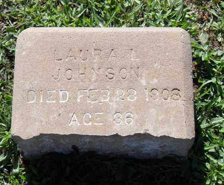 JOHNSON, LAURA L. - Pulaski County, Arkansas | LAURA L. JOHNSON - Arkansas Gravestone Photos