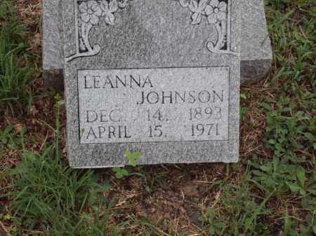 JOHNSON, LEANNA - Pulaski County, Arkansas | LEANNA JOHNSON - Arkansas Gravestone Photos