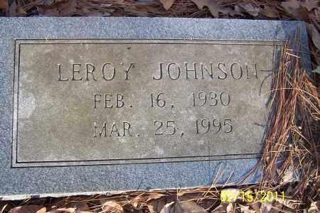 JOHNSON, LEROY - Pulaski County, Arkansas   LEROY JOHNSON - Arkansas Gravestone Photos