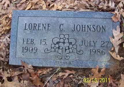JOHNSON, LORENE C - Pulaski County, Arkansas | LORENE C JOHNSON - Arkansas Gravestone Photos