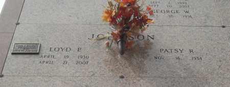 JOHNSON, LOYD P - Pulaski County, Arkansas   LOYD P JOHNSON - Arkansas Gravestone Photos