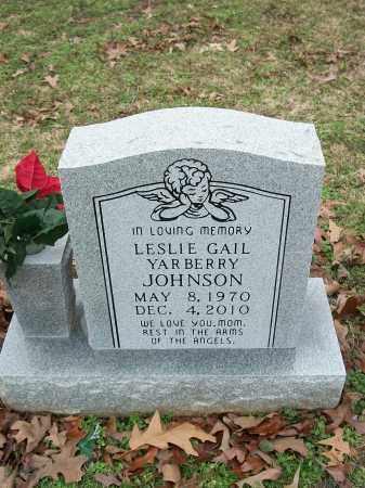 JOHNSON, LESLIE GAIL - Pulaski County, Arkansas | LESLIE GAIL JOHNSON - Arkansas Gravestone Photos