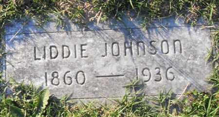 JOHNSON, LIDDIE - Pulaski County, Arkansas   LIDDIE JOHNSON - Arkansas Gravestone Photos