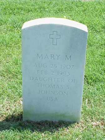 JOHNSON, MARY M. - Pulaski County, Arkansas | MARY M. JOHNSON - Arkansas Gravestone Photos