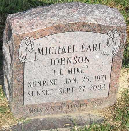 JOHNSON, MICHEAL  EARL - Pulaski County, Arkansas | MICHEAL  EARL JOHNSON - Arkansas Gravestone Photos