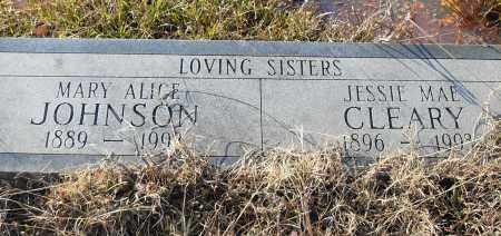 JOHNSON, MARY ALICE - Pulaski County, Arkansas | MARY ALICE JOHNSON - Arkansas Gravestone Photos