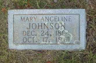 JOHNSON, MARY ANGELINE - Pulaski County, Arkansas   MARY ANGELINE JOHNSON - Arkansas Gravestone Photos