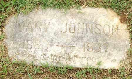 JOHNSON, MARY - Pulaski County, Arkansas | MARY JOHNSON - Arkansas Gravestone Photos