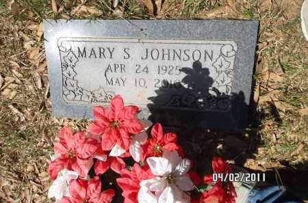 JOHNSON, MARY S - Pulaski County, Arkansas | MARY S JOHNSON - Arkansas Gravestone Photos