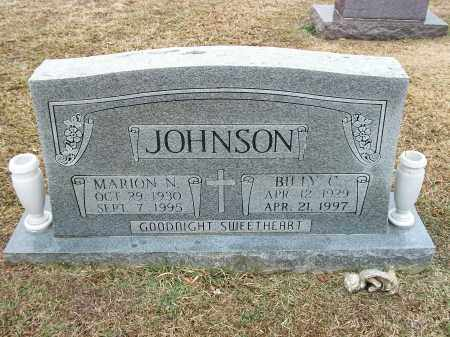 JOHNSON, BILLY C. - Pulaski County, Arkansas | BILLY C. JOHNSON - Arkansas Gravestone Photos