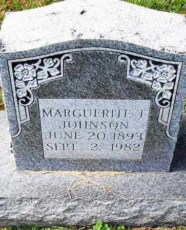 JOHNSON, MARGUERITE T - Pulaski County, Arkansas | MARGUERITE T JOHNSON - Arkansas Gravestone Photos