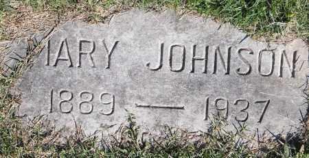 JOHNSON, MARY - Pulaski County, Arkansas   MARY JOHNSON - Arkansas Gravestone Photos