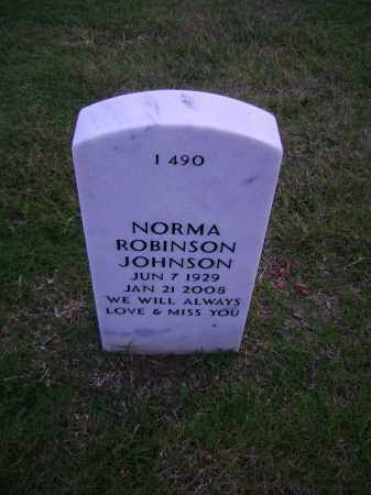 JOHNSON, NORMA - Pulaski County, Arkansas | NORMA JOHNSON - Arkansas Gravestone Photos