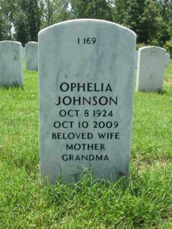 JOHNSON, OPHELIA - Pulaski County, Arkansas | OPHELIA JOHNSON - Arkansas Gravestone Photos