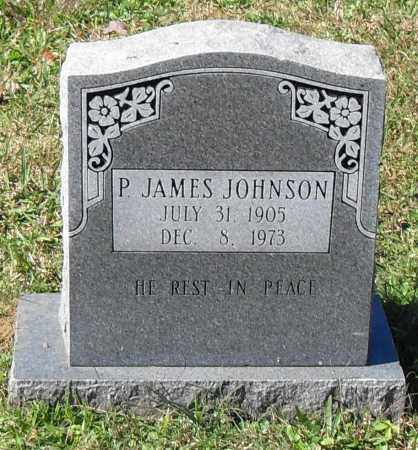 JOHNSON, P. JAMES - Pulaski County, Arkansas | P. JAMES JOHNSON - Arkansas Gravestone Photos