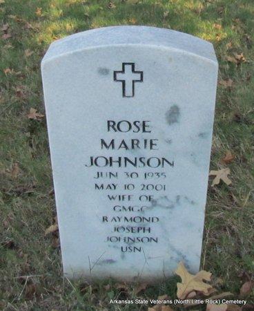 JOHNSON, ROSE MARIE - Pulaski County, Arkansas | ROSE MARIE JOHNSON - Arkansas Gravestone Photos