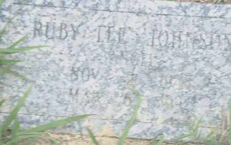 JOHNSON, RUBY  LEE - Pulaski County, Arkansas | RUBY  LEE JOHNSON - Arkansas Gravestone Photos
