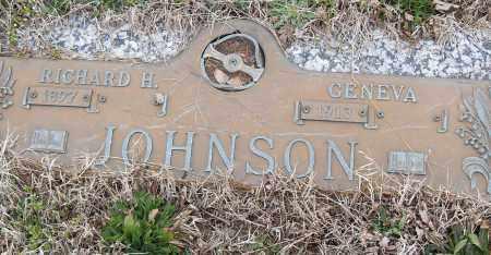 JOHNSON, RICHARD H. - Pulaski County, Arkansas | RICHARD H. JOHNSON - Arkansas Gravestone Photos