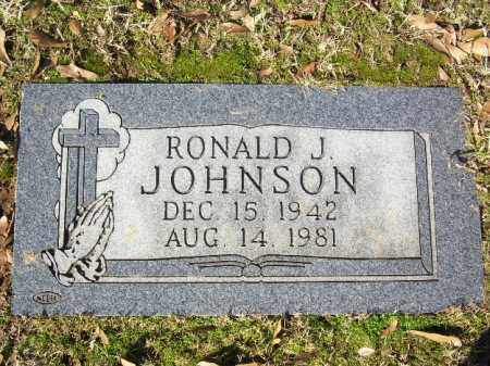 JOHNSON, RONALD J - Pulaski County, Arkansas | RONALD J JOHNSON - Arkansas Gravestone Photos