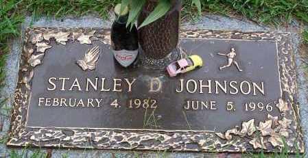 JOHNSON, STANLEY D - Pulaski County, Arkansas | STANLEY D JOHNSON - Arkansas Gravestone Photos