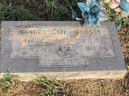 JOHNSON, SANDRA GAIL - Pulaski County, Arkansas | SANDRA GAIL JOHNSON - Arkansas Gravestone Photos