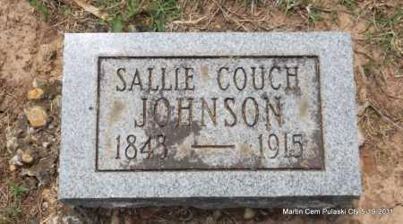 JOHNSON, SALLIE - Pulaski County, Arkansas   SALLIE JOHNSON - Arkansas Gravestone Photos