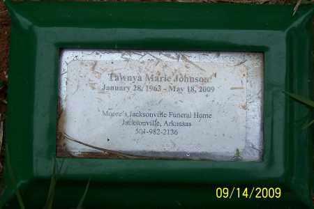 JOHNSON, TAWNYA MARIE - Pulaski County, Arkansas | TAWNYA MARIE JOHNSON - Arkansas Gravestone Photos