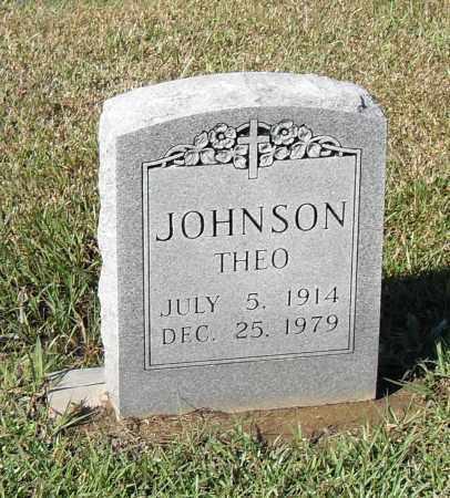 JOHNSON, THEO - Pulaski County, Arkansas   THEO JOHNSON - Arkansas Gravestone Photos