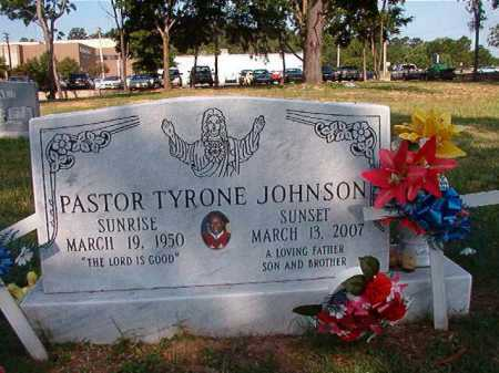 JOHNSON, TYRONE - Pulaski County, Arkansas | TYRONE JOHNSON - Arkansas Gravestone Photos