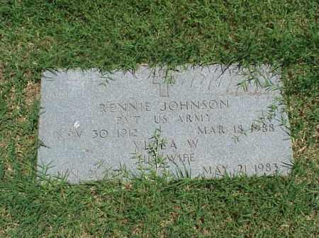 JOHNSON, VIOLA W - Pulaski County, Arkansas   VIOLA W JOHNSON - Arkansas Gravestone Photos