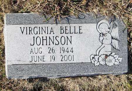 JOHNSON, VIRGINIA BELLE - Pulaski County, Arkansas   VIRGINIA BELLE JOHNSON - Arkansas Gravestone Photos