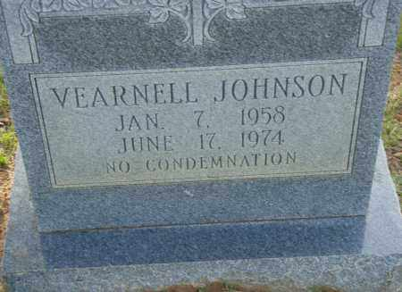 JOHNSON, VEARNELL - Pulaski County, Arkansas | VEARNELL JOHNSON - Arkansas Gravestone Photos
