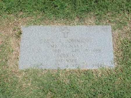 JOHNSON, LOIS V - Pulaski County, Arkansas   LOIS V JOHNSON - Arkansas Gravestone Photos