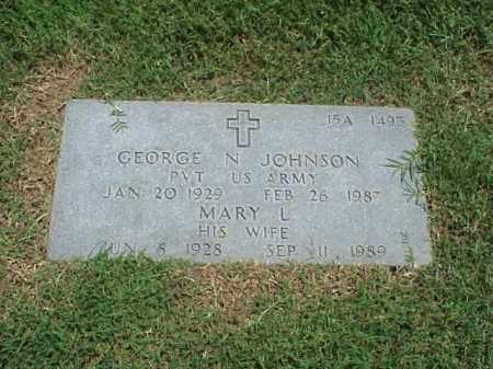 JOHNSON, MARY L - Pulaski County, Arkansas | MARY L JOHNSON - Arkansas Gravestone Photos