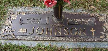 JOHNSON, WILLIAM F - Pulaski County, Arkansas | WILLIAM F JOHNSON - Arkansas Gravestone Photos