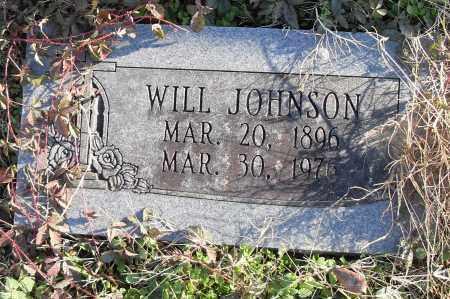 JOHNSON, WILL - Pulaski County, Arkansas   WILL JOHNSON - Arkansas Gravestone Photos