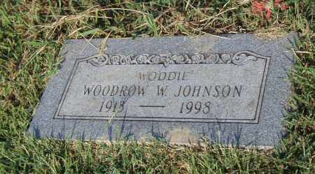 JOHNSON, WOODROW W. - Pulaski County, Arkansas | WOODROW W. JOHNSON - Arkansas Gravestone Photos