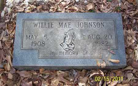 JOHNSON, WILLIE MAE - Pulaski County, Arkansas | WILLIE MAE JOHNSON - Arkansas Gravestone Photos