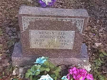 JOHNSON, WESLEY LEE - Pulaski County, Arkansas | WESLEY LEE JOHNSON - Arkansas Gravestone Photos