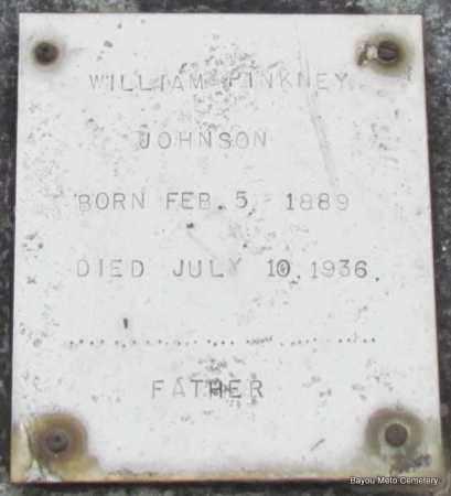 JOHNSON, WILLIAM PINKNEY - Pulaski County, Arkansas   WILLIAM PINKNEY JOHNSON - Arkansas Gravestone Photos