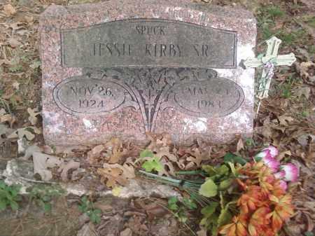 "KIRBY, SR., JESSIE ""SPUCK"" - Pulaski County, Arkansas   JESSIE ""SPUCK"" KIRBY, SR. - Arkansas Gravestone Photos"