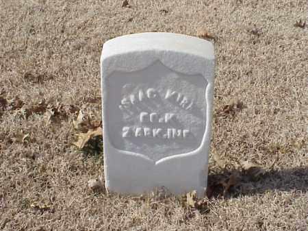 KIRK (VETERAN UNION), ISAAC - Pulaski County, Arkansas   ISAAC KIRK (VETERAN UNION) - Arkansas Gravestone Photos