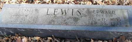 LEWIS, EDWARD - Pulaski County, Arkansas | EDWARD LEWIS - Arkansas Gravestone Photos