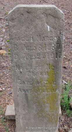 MARGOT, JACOB - Pulaski County, Arkansas | JACOB MARGOT - Arkansas Gravestone Photos