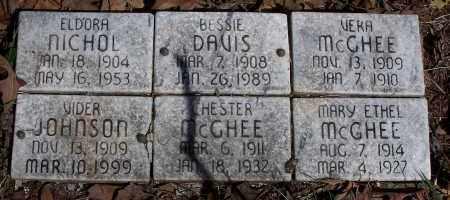 DAVIS, BESSIE - Pulaski County, Arkansas | BESSIE DAVIS - Arkansas Gravestone Photos