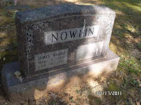 NOWLIN, JAMES REIHLE - Pulaski County, Arkansas | JAMES REIHLE NOWLIN - Arkansas Gravestone Photos