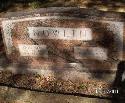 NOWLIN, KATIE MAE - Pulaski County, Arkansas | KATIE MAE NOWLIN - Arkansas Gravestone Photos